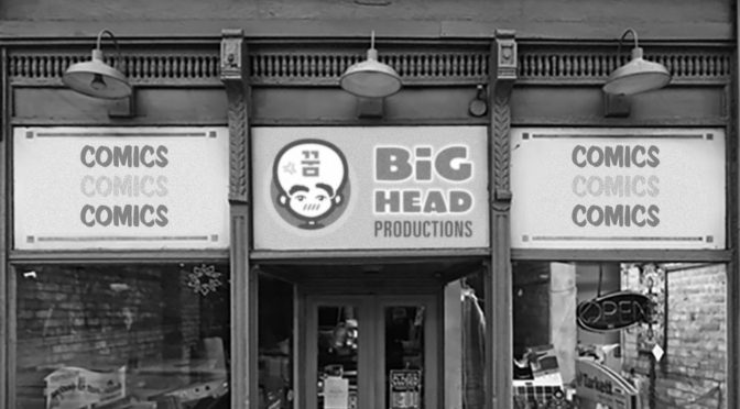 BIG HEAD PRODUCTIONS has a Store!